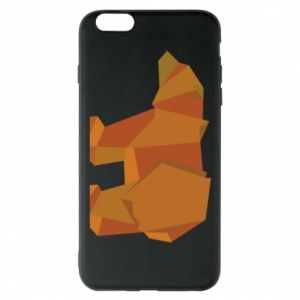 Etui na iPhone 6 Plus/6S Plus Brown bear abstraction