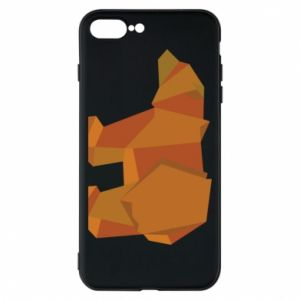 Etui na iPhone 8 Plus Brown bear abstraction