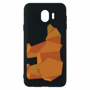 Etui na Samsung J4 Brown bear abstraction