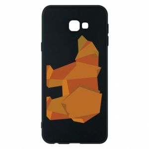 Etui na Samsung J4 Plus 2018 Brown bear abstraction