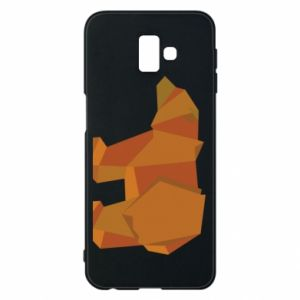 Etui na Samsung J6 Plus 2018 Brown bear abstraction