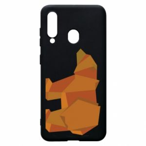 Etui na Samsung A60 Brown bear abstraction