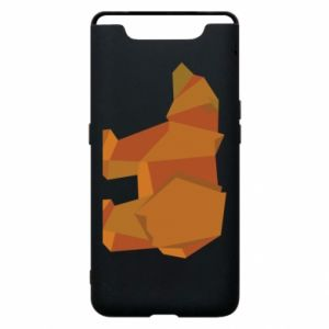 Etui na Samsung A80 Brown bear abstraction