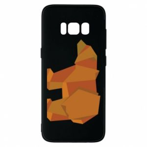 Etui na Samsung S8 Brown bear abstraction