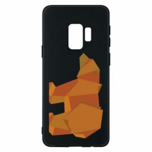 Etui na Samsung S9 Brown bear abstraction