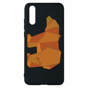 Etui na Huawei P20 Brown bear abstraction