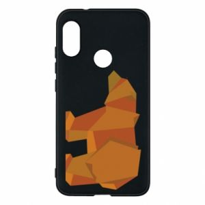 Etui na Mi A2 Lite Brown bear abstraction
