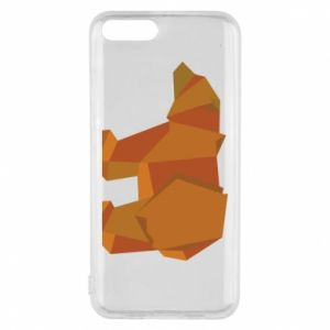 Etui na Xiaomi Mi6 Brown bear abstraction