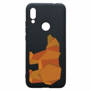 Etui na Xiaomi Redmi 7 Brown bear abstraction