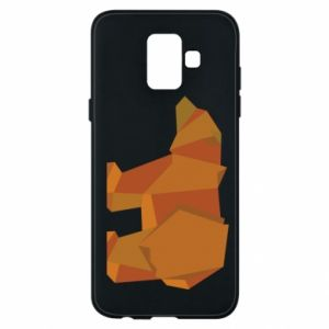 Etui na Samsung A6 2018 Brown bear abstraction