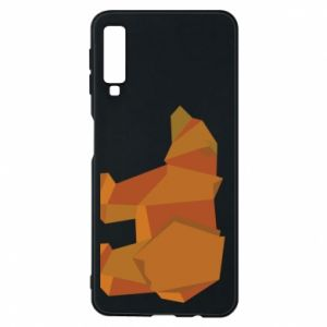 Etui na Samsung A7 2018 Brown bear abstraction