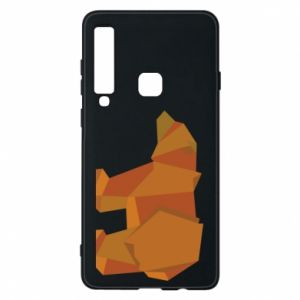 Etui na Samsung A9 2018 Brown bear abstraction