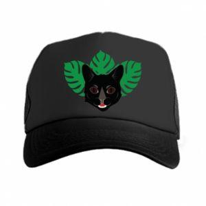 Czapka trucker Brown-eyed panther - PrintSalon