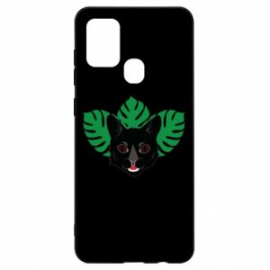 Etui na Samsung A21s Brown-eyed panther