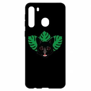 Etui na Samsung A21 Brown-eyed panther