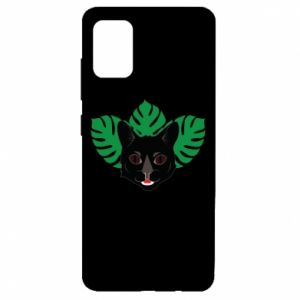 Etui na Samsung A51 Brown-eyed panther