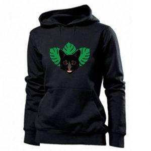 Women's hoodies Brown-eyed panther