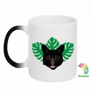Chameleon mugs Brown-eyed panther