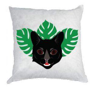 Poduszka Brown-eyed panther - PrintSalon