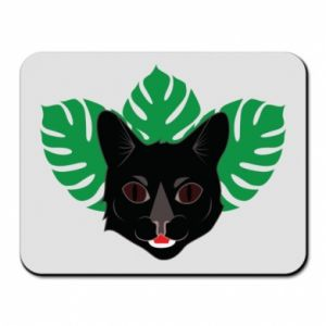 Mouse pad Brown-eyed panther