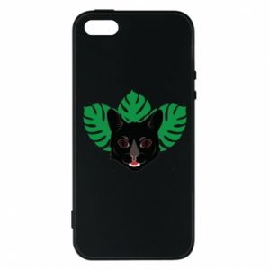 Etui na iPhone 5/5S/SE Brown-eyed panther