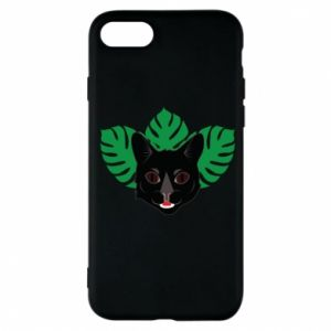 Etui na iPhone 7 Brown-eyed panther