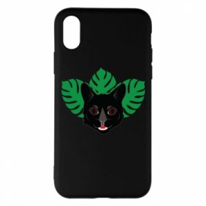 Etui na iPhone X/Xs Brown-eyed panther