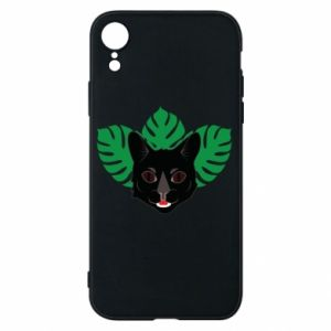 Etui na iPhone XR Brown-eyed panther - PrintSalon
