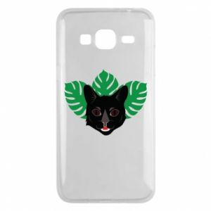 Phone case for Samsung J3 2016 Brown-eyed panther