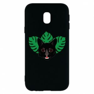 Phone case for Samsung J3 2017 Brown-eyed panther