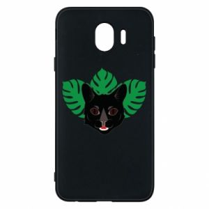 Phone case for Samsung J4 Brown-eyed panther