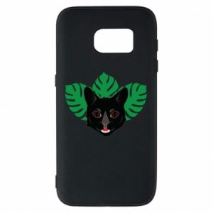 Etui na Samsung S7 Brown-eyed panther