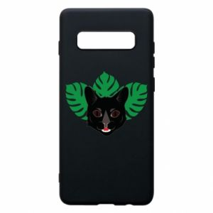 Etui na Samsung S10+ Brown-eyed panther