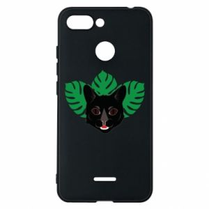 Phone case for Xiaomi Redmi 6 Brown-eyed panther