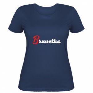 Women's t-shirt Brunette