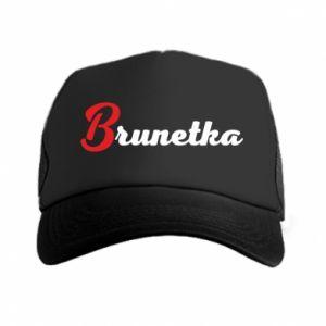 Czapka trucker Brunetka