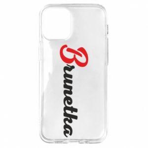 Etui na iPhone 12 Mini Brunetka