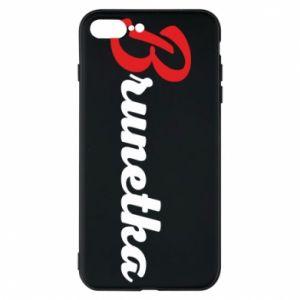 Etui do iPhone 7 Plus Brunetka