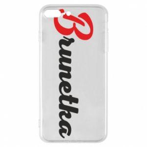 Etui na iPhone 8 Plus Brunetka