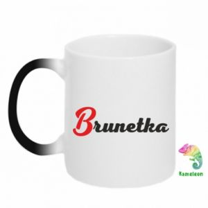 Kubek-kameleon Brunetka