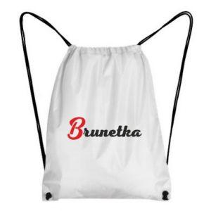 Plecak-worek Brunetka