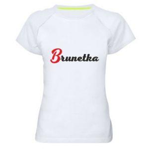 Koszulka sportowa damska Brunetka