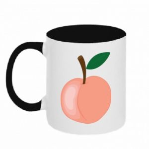 Two-toned mug Peach