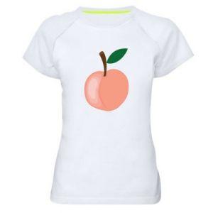 Koszulka sportowa damska Brzoskwinia