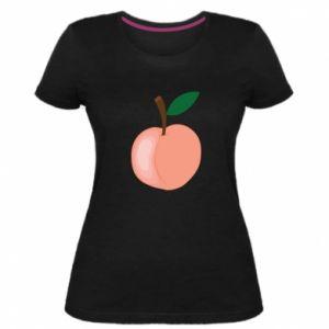 Damska premium koszulka Brzoskwinia