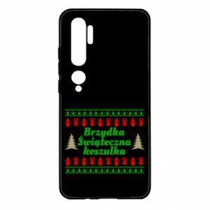 Etui na Xiaomi Mi Note 10 Brzydka świąteczna koszulka