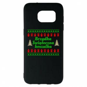Etui na Samsung S7 EDGE Brzydka świąteczna koszulka