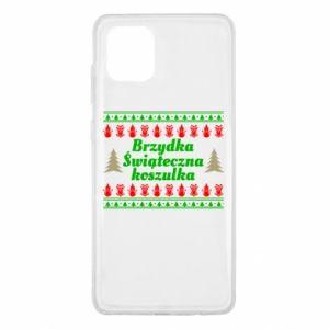 Etui na Samsung Note 10 Lite Brzydka świąteczna koszulka