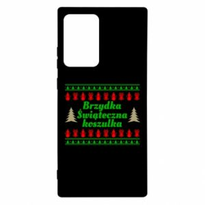 Etui na Samsung Note 20 Ultra Brzydka świąteczna koszulka