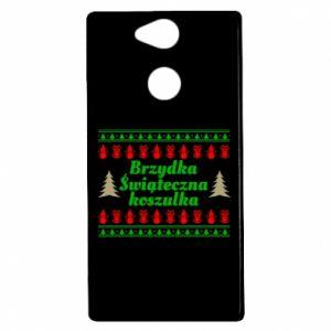 Etui na Sony Xperia XA2 Brzydka świąteczna koszulka